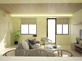 Living room by DW Interiors,
