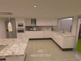 Built-in kitchens by adc arquitectos, Minimalist