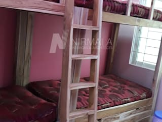 Nirmala Architects & Interiors BedroomBeds & headboards