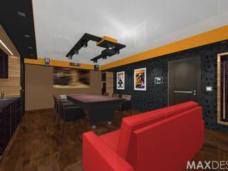 Phòng giải trí theo MAXDESIGNER,