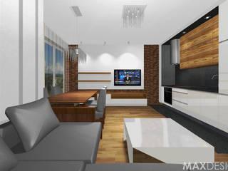 Phòng khách theo MAXDESIGNER,