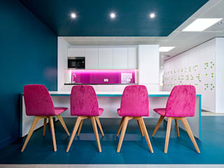 BLINDAID (Office Design In London):  Electronics by CCWS Interiors Ltd,