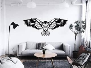 Renaissance Eagle - Odun Arts / Tótem Madera de Odun Arts Minimalista