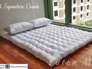 ที่นอนญี่ปุ่น ฟุตง tradiional japanese futon bed  : ที่เรียบง่าย  โดย chalaluck, มินิมัล