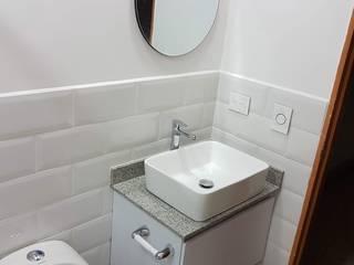 Remodelación de baño Baños de estilo moderno de Remodelaciones Luján Moderno