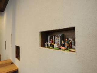 リノベーション maison du Santon: モノスタ'70が手掛けたリビングです。,オリジナル