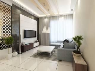 Minimalist living room by Space Interface Minimalist