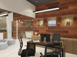 Minimalist commercial spaces by Space Interface Minimalist