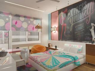 Camera da letto in stile  di Space Interface
