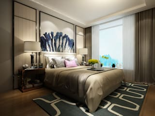 Small bedroom by Space Interface, Modern