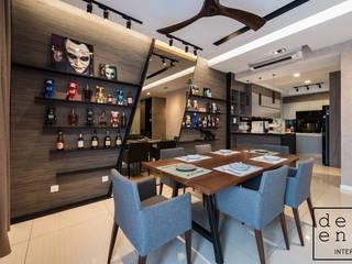 RESIDENTIAL - SERI RIANA RESIDENCE Modern dining room by Dezeno Sdn Bhd Modern