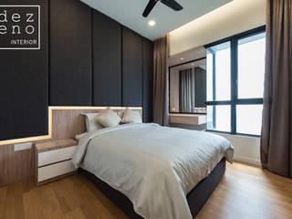 RESIDENTIAL - SERI RIANA RESIDENCE Modern style bedroom by Dezeno Sdn Bhd Modern