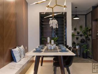 RESIDENTIAL - CASA DESA CONDOMINIUM Modern dining room by Dezeno Sdn Bhd Modern