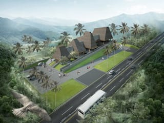 lawang arjuno midun and partners architect Rumah Tropis