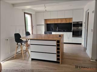 Obra realizada em Pontault-Combault (França) I por Tifermovel - Interior Design Moderno