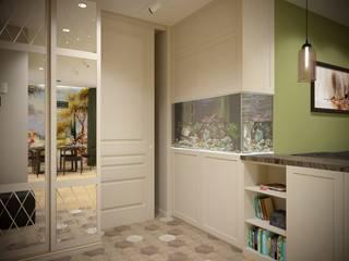 Modern corridor, hallway & stairs by ARTWAY центр профессиональных дизайнеров и строителей Modern