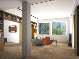 Modern living room by Grippo + Murzi Architetti Modern
