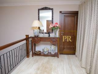 Sai Krishna Enclave Yapral Classic style corridor, hallway and stairs by Purplerain Design Studio Classic