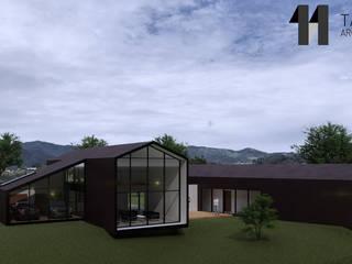 Casa Zapata de Taller Once Arquitectura Moderno