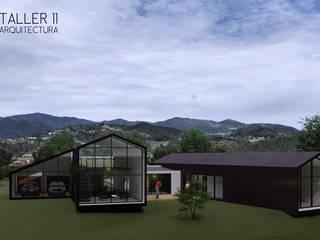 Casa Zapata:  de estilo  por Taller Once Arquitectura