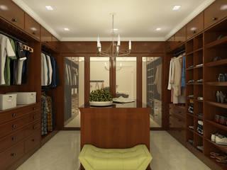 Remodelación de walk in closet: Vestidores y placares de estilo  por SEVARK