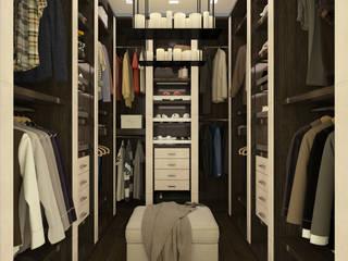 Modern dressing room by SEVARK Modern