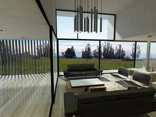 Casa ZH: Livings de estilo  por Vetas Sur, Moderno