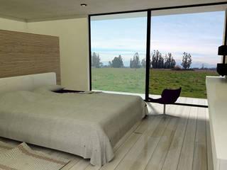 Casa ZH: Dormitorios de estilo  por Vetas Sur, Moderno