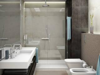 Minimalist style bathroom by SEVARK Minimalist