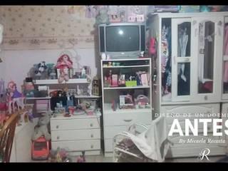 Renovación del dormitorio de Azul de MR-Micaela Recosta-Interiorista