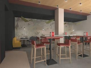 Progetto Bar: Bar & Club in stile  di serenascaioli_progettidinterni
