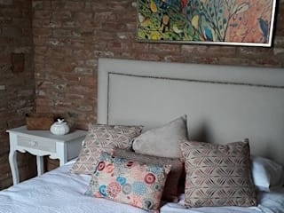 Small bedroom by Azohia Design - Diseño y Decoracion Maria Alejandra Bucher EIRL , Modern