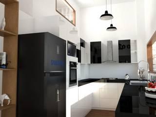 Cocina Black and White de Deco Abitare