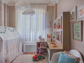 Quarto Montessori Erica Saraiva Design de Interiores Quartos de bebê Laranja