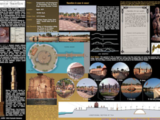 Conservation and Redevelopment of Vikram Tila Behind Mahakal Temple Ujjain Classic style garden by ALPHA CONSULTANTS Classic