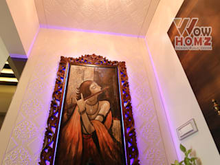 Sunita Agarwala - 2BHK @ Mumbai Modern living room by Wow Homz Modern