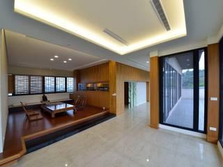 三樓大露台 根據 台中室內建築師|利程室內外裝飾 LICHENG 日式風、東方風