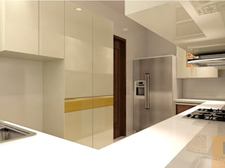 Unit dapur oleh Matter Of Space Pvt. Ltd., Minimalis