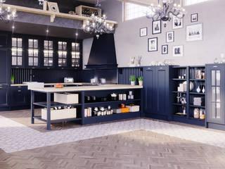 Infografias 3D y Renders 3D Madrid Mediterranean style walls & floors