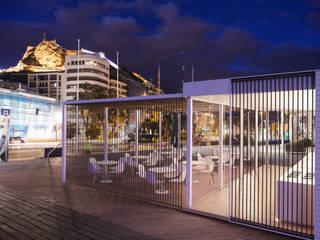Infografias 3D y Renders 3D Madrid Varandas, alpendres e terraços modernos