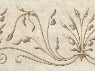 Renaissance Wallpaper Border Fiorentini Design Walls Beige