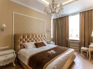 Phòng ngủ theo Студия дизайна интерьера Татьяны Лазурной, Kinh điển