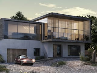 Warsash Contemporary Re-development Rumah Modern Oleh dwell design Modern