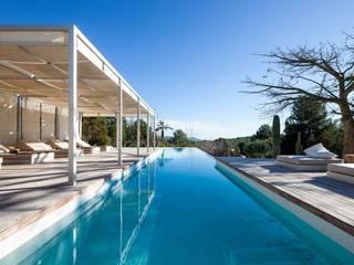 Villa en venta en Ibiza Can Dante Casas de estilo moderno de Estela Exclusive Homes Moderno