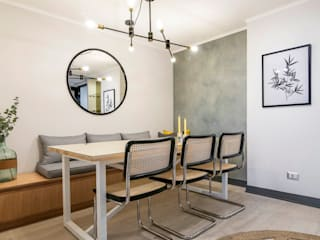 Scandinavian style dining room by Klover Scandinavian