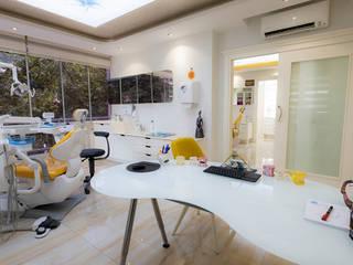 Teknik Sanat İç Mimarlık Renovasyon Ltd. Şti. Rustic style clinics