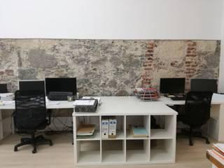 Reforma integral. Despacho profesional. Las Palmas de Gran Canaria de O2 eStudio BIM arquitectos S.L.P Mediterráneo