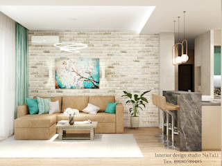 Living room by Студия дизайна Натали, Modern