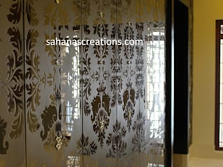 Interior Designers and Architects for Bungalow Modern living room by Sahana's Creations Architects and Interior Designers Modern