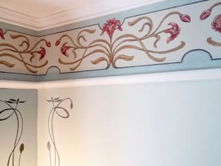 Nouveau Wallpaper Border Fiorentini Design Walls
